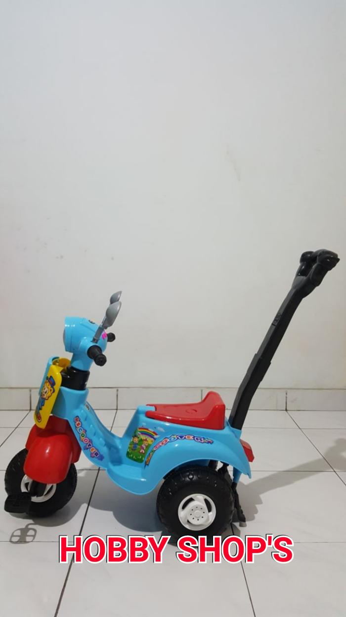 Spesial Promo / Hot Sale / Mainan Vespa Mobil Dorong / Scooter Dorong / Shp Scooter 609 By Mtshop.