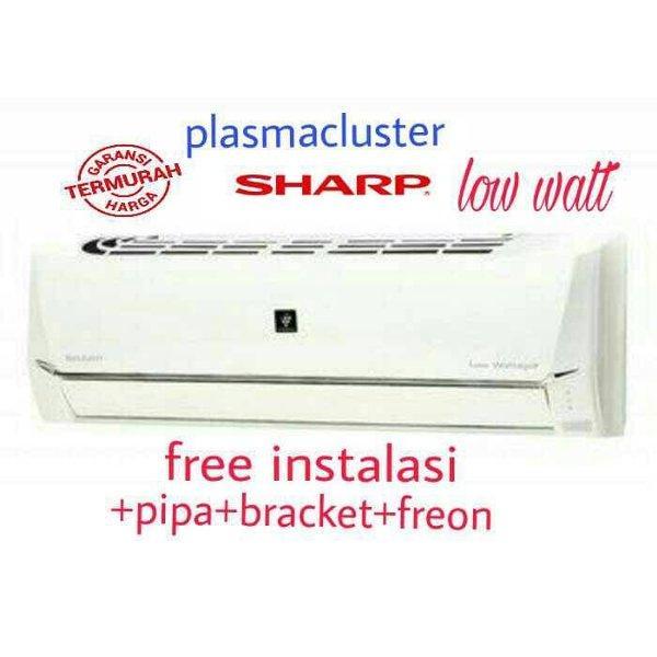 Ac Split 1Pk Plasmacluster Sharp Type: 09UHL (Free Pemasangan & Bahan) Khusus Medan