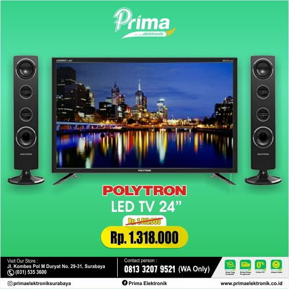 Polytron LED TV 24 Inch PLD24T8511