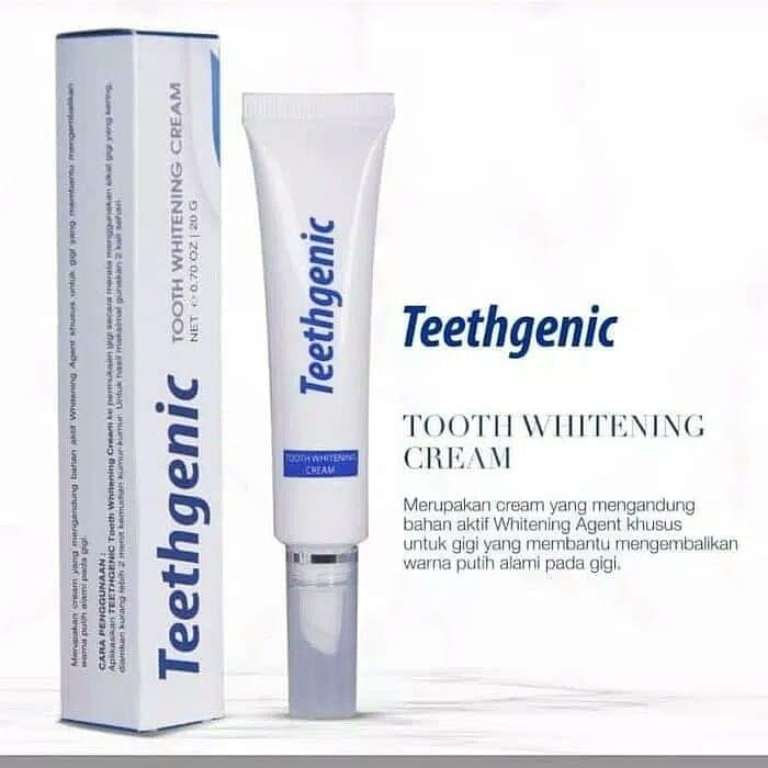 Ertos Teethgenic Toot Whitening Cream / Cream Pemutih Gigi By Beauty Lover.