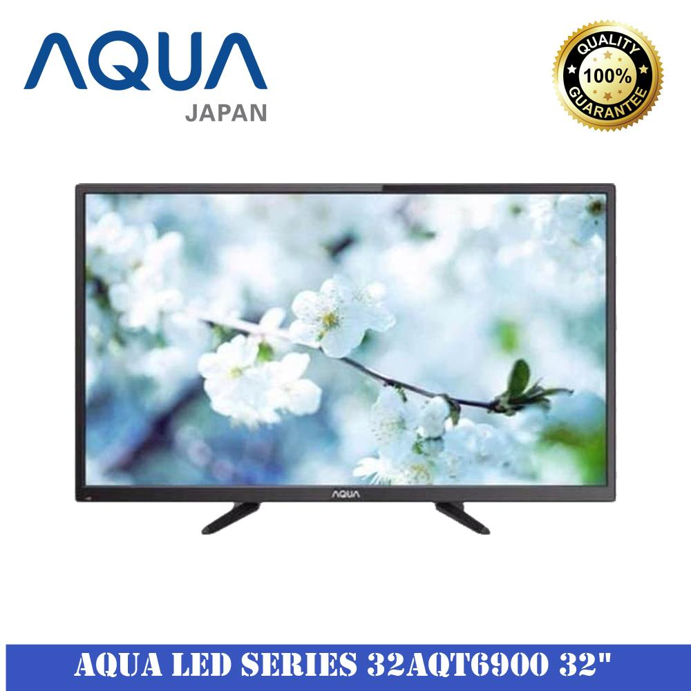 Sanyo Aqua Series 32AQT6900 32Inch Televisi LED Free Packing Kayu