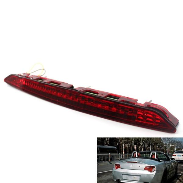 Fit for 2002-2008 E85 Z4 Third Brake Stop Light Red Color Lamp 63256917378
