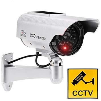 IR LED Fake Security Camera Anti Maling / CCTV Palsu Mirip Asli (Kamera Keamanan Dalam