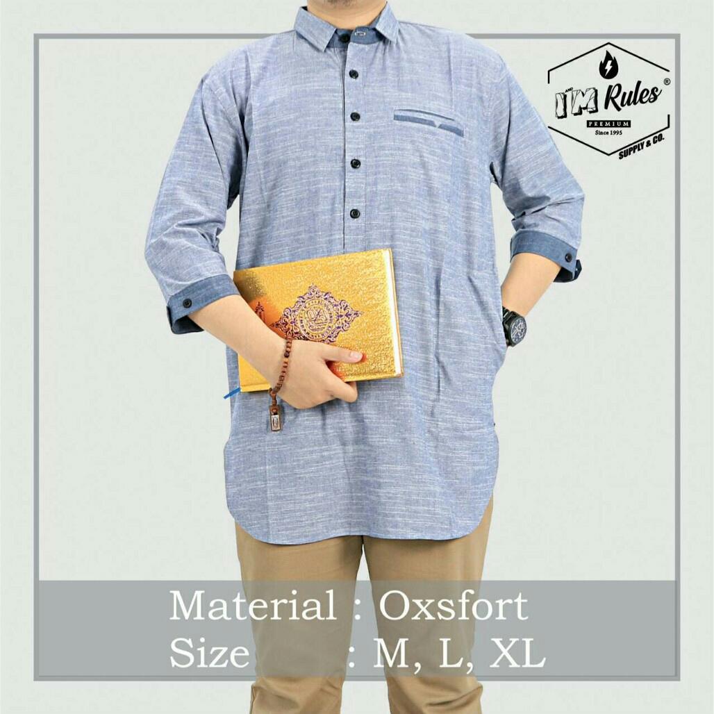 Jual Pakaian Baju Atasan Muslim Premium Quarta Pria Jk52 Good Quality By Hqshop.id.