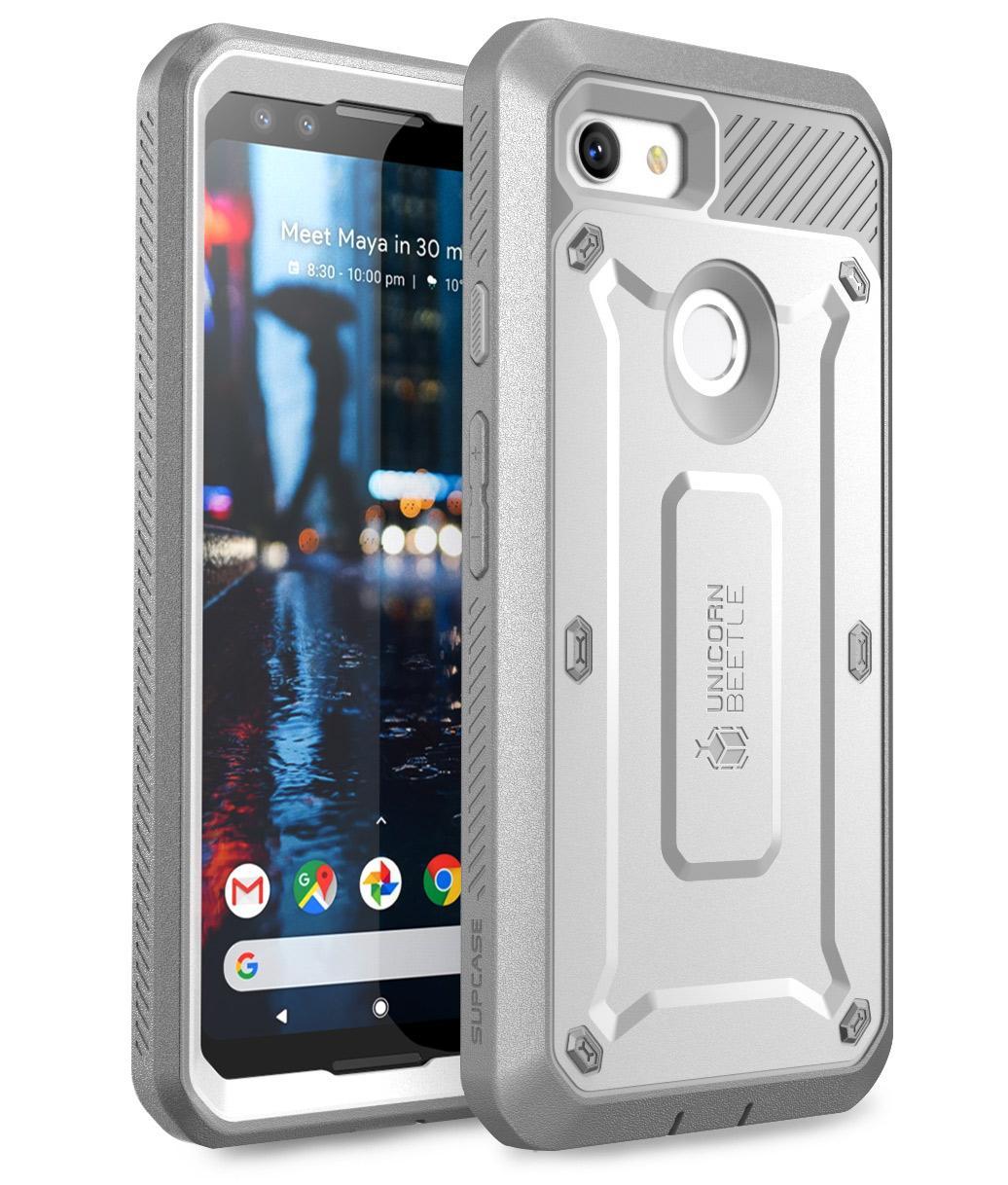 Supcase Google Pixel3 XL Google Tiga Anti HP Casing anti jatuh Bungkus  Penuh Silikon Casing Pelindung f8bef3c29d
