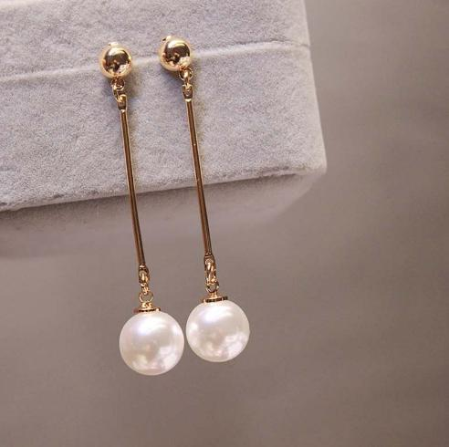 Acc Global / Anting Wanita / Anting Juntai Dengan Imitasi Pearl By Acc Global.