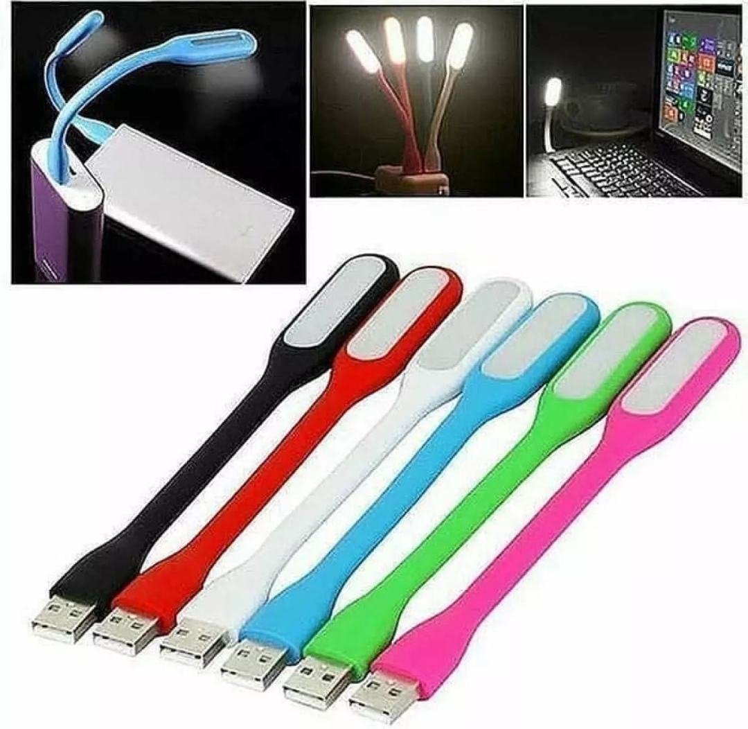 ( MURAH 2PCS ) LAMPU LED USB / LAMPU USB / LAMPU LED POWER BANK (WARNA RANDOM)