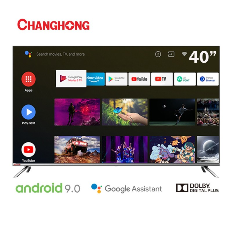 Changhong L40H7 Smart TV LED [40 Inch/ FHD/ Android/ Google Certified]