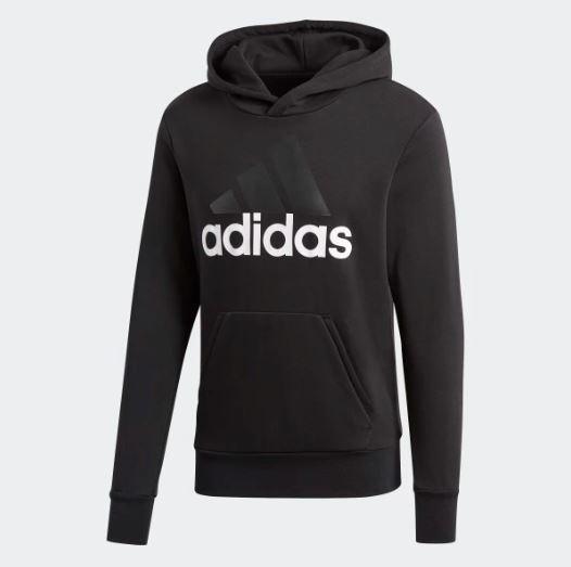 Adidas Hoodie Adidas Essentials Linear Pullover Hoodie - S98772 - Hitam By Sarangsepatu.