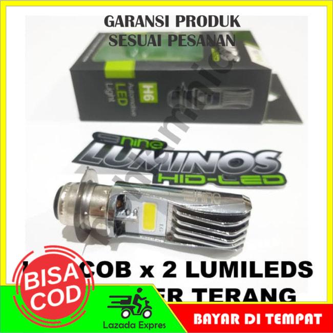 BISA COD!!!Lampu Motor LED Luminos Honda Beat ESP FI 9NINE PNP H6 M5 T19 Putih || Lampu Motor || Bhid1