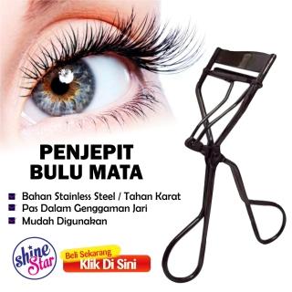 SHINE STAR - [ORIGINAL] Pelentik Bulu Mata Eyelash Curler - Penjepit Bulu Mata Galenco Alat Jepit Universal Bulumata Bahan Tahan Karat - Hitam thumbnail