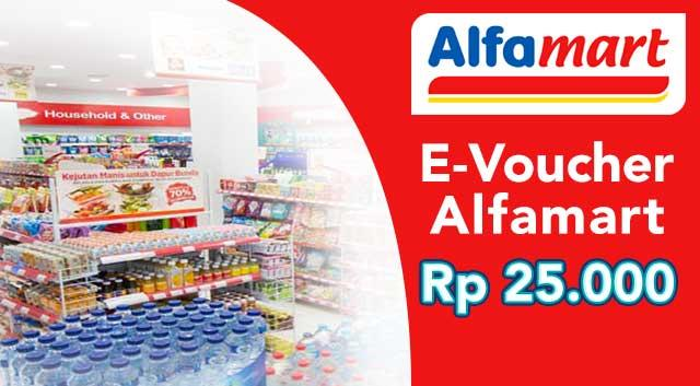 Voucher Belanja Alfa Mart 25 Ribu By Atho Cell.