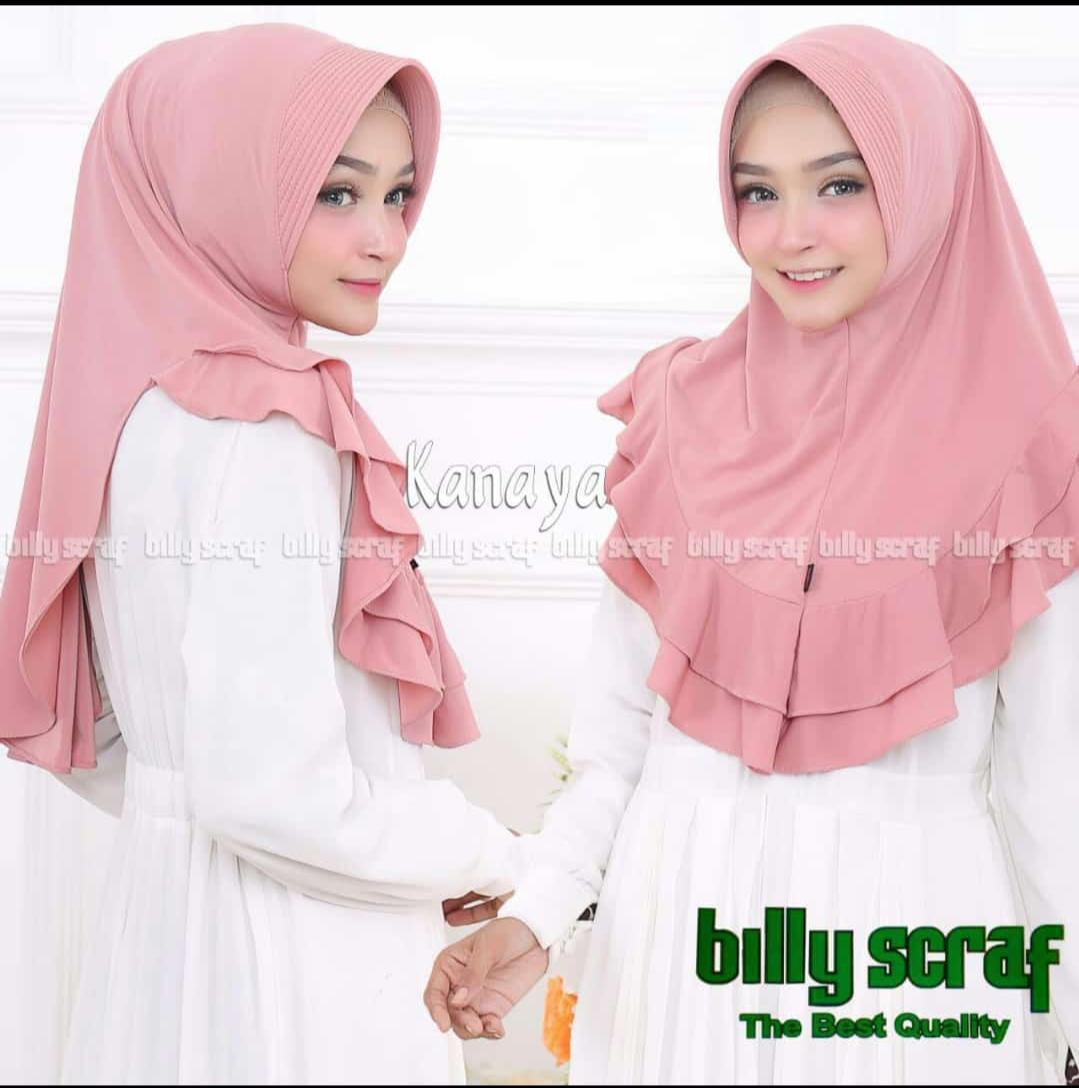 Hijab/Jilbab Instan Model Bergo terbaru termurah dan Terlaris / Kerudung Wanita Jersey Kanaya / DnK Jaya