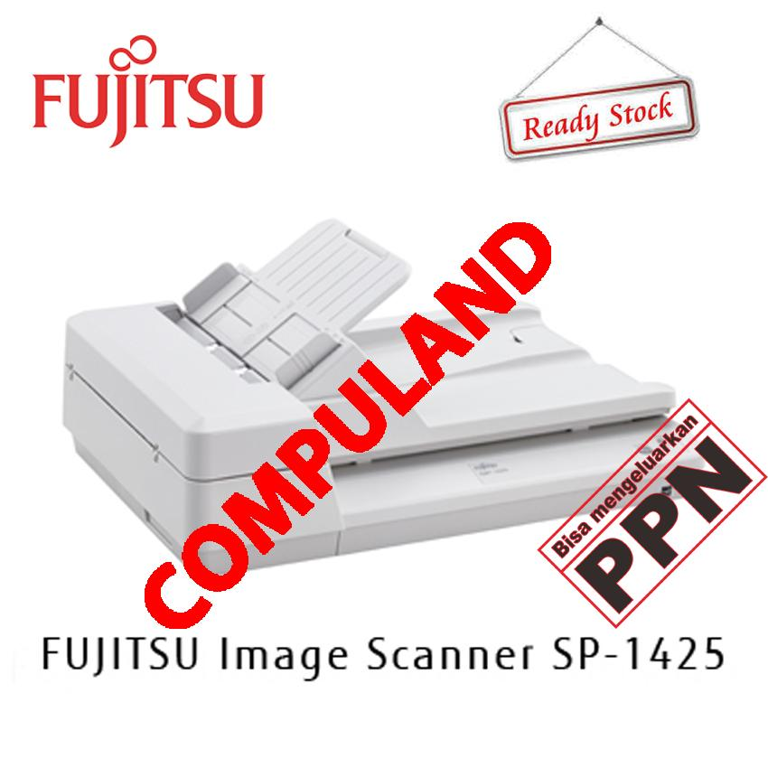 Fujitsu Scanner SP-1425 / SP1425 / SP 1425 -  A4/Legal, 25ppm ADF/ 4sec FB ADF: 50 /3.00