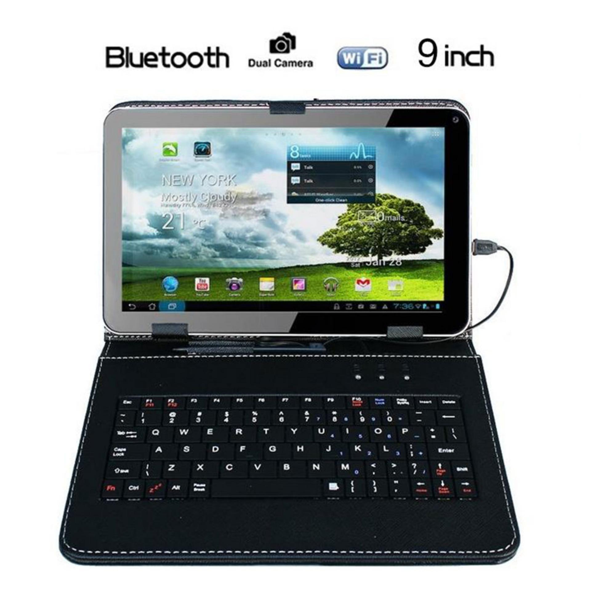 Newworldmall 9 Inch Android Tablet Pc Allwinner A33 Quad Core 8gb +keyboard Au Black By Newworldmall.