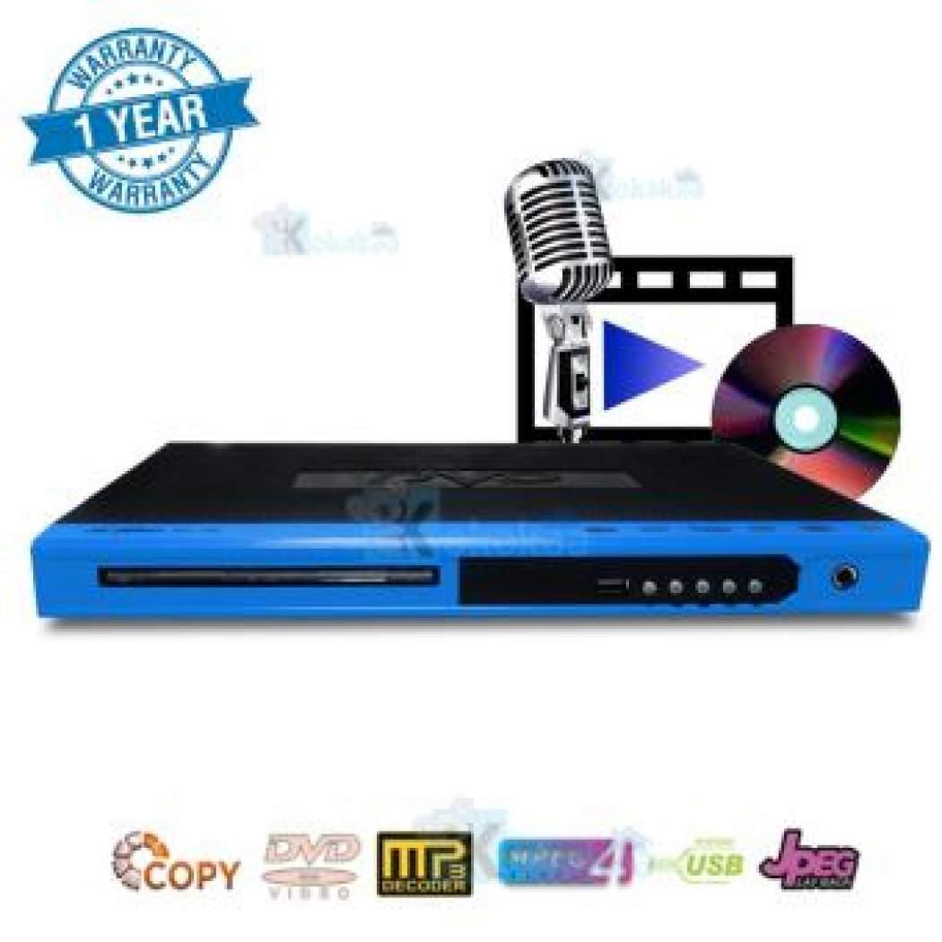NIKO DVD MP4 Player NK-178 - Blue jagonya dvd