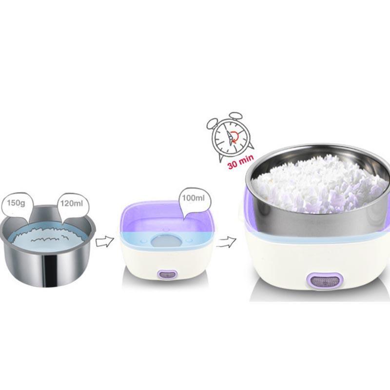 StarHome Rice Cooker Mini 2 Susun kapasitas 1 L - Penanak Nasi Mini - Egg Boiler | Lazada Indonesia