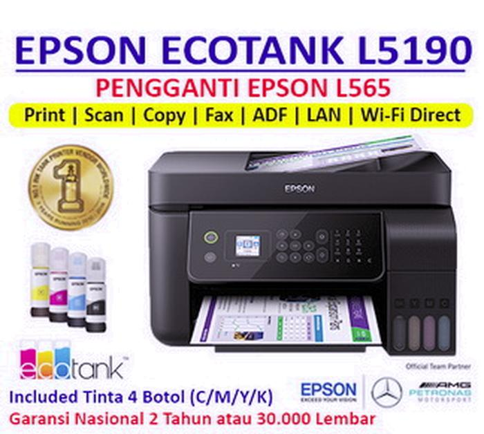 Epson L5190 Printer Penggannti L565