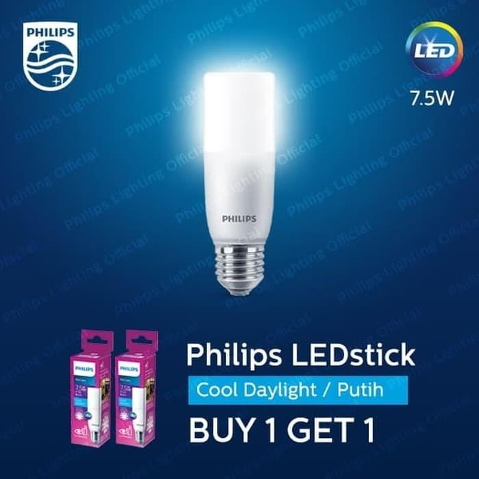 philips led stik stick sticks 7,5 watt 7,5 wat 7,5 w putih (2pcs)