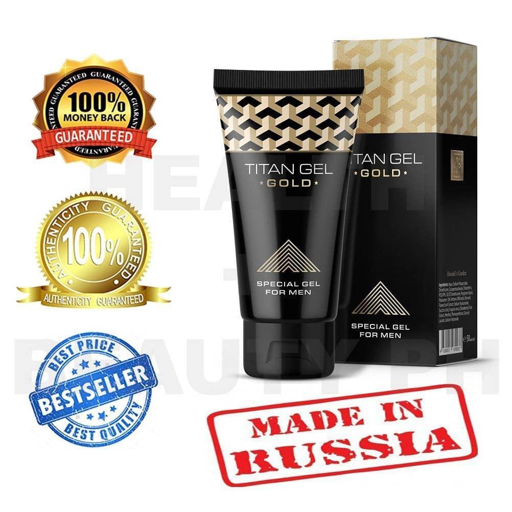 Tit_an G_el Gold Rusia Original For Man , Besar, Panjang, Permanen !!! By D_lisa.