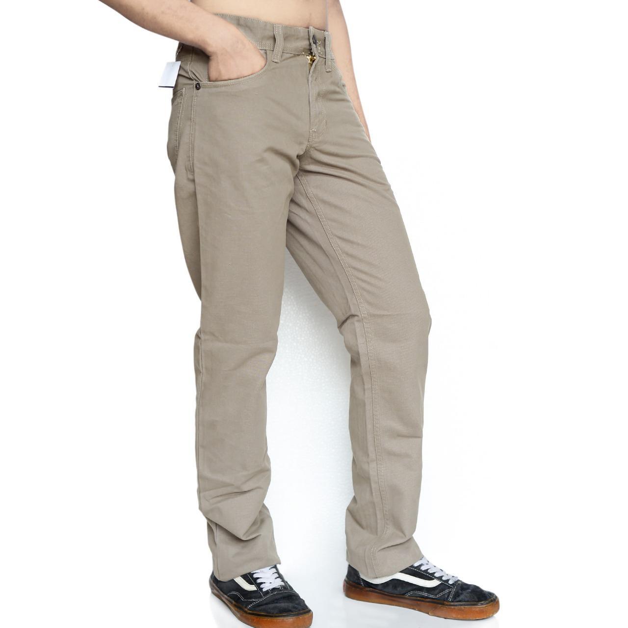 Emba Casual Celana Panjang Pria EPA 012 Modern Basic 116-01805-26 Light Brown