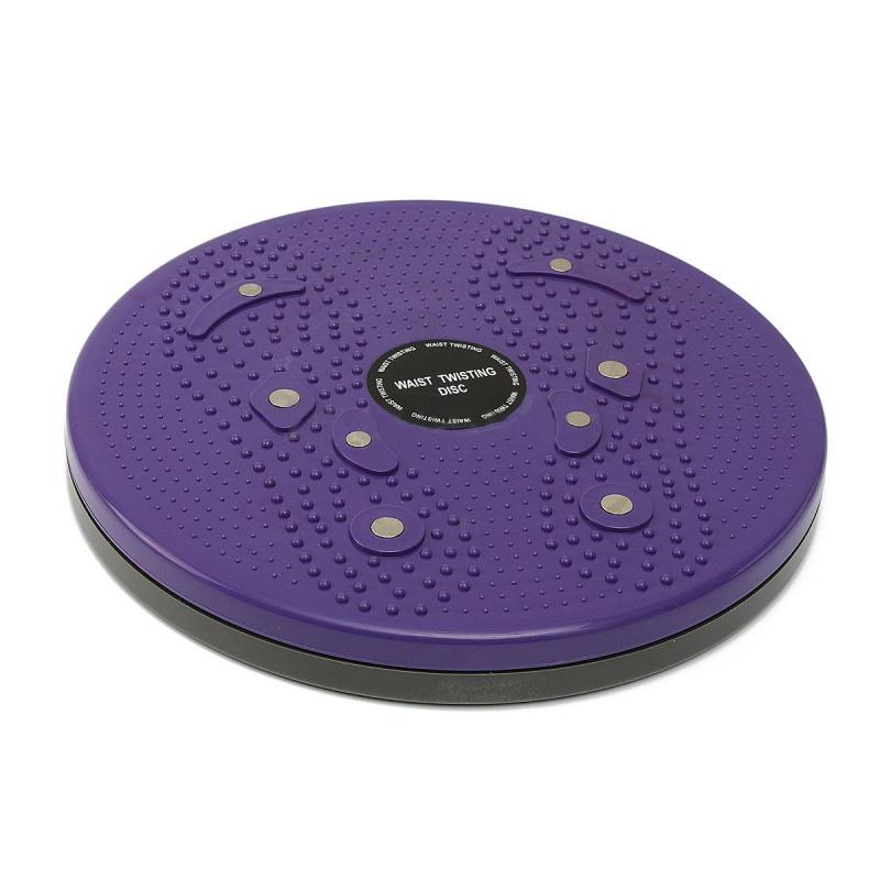 Bảng giá Twist Waist Torsion Disc Board Aerobic Exercise Fitness Reflexology Magnets Purple