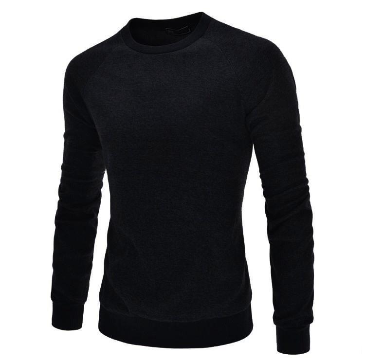 KemejaKita Baju Pria RAGRAN Bahan Tebal Lengan Panjang Kaos Pria