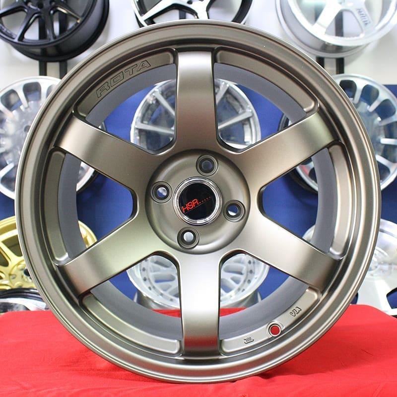 Velg Mobil Ring 17 HSR TOKYO 657 Racing Honda City Jazz Yaris Mazda2 Yaris dll