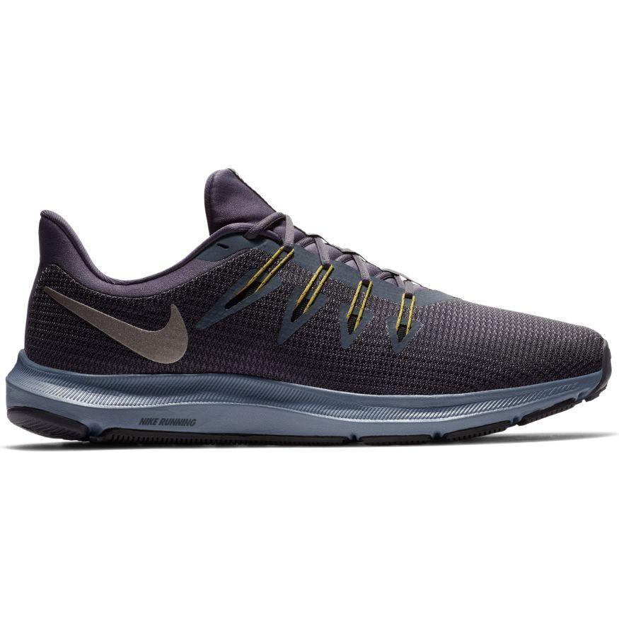 Nike - Quest Sepatu Lari Pria - Abu-abu f0bdfeac6d