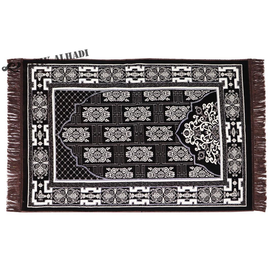 Sajadah Kano Premier Silver Tebal, Bulu Halus dan lembut, Oleh Oleh Haji dan Umroh Made in Turkey - Batik Alhadi