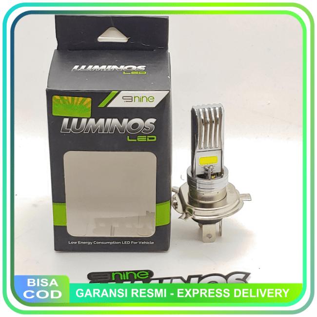 BISA COD!!!Lampu Depan Led H4 Luminos Led Vixion & Megapro New & Cb150R & Scoopy || Lampu Motor || LMtrDB2
