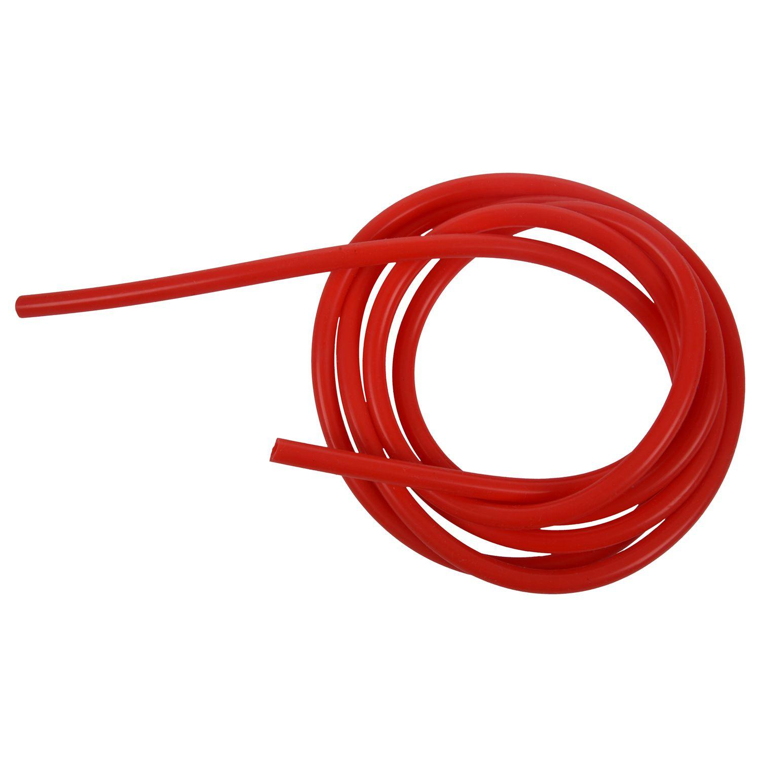 2 Meter Red Silicone Vacuum Tube Hose 4mm ID 7mm OD for Car