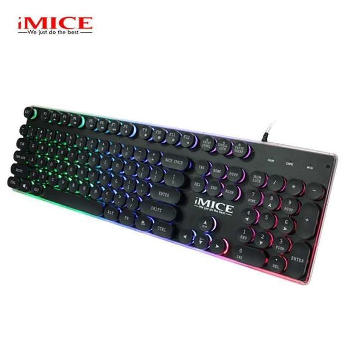 IMICE AK-700 Gaming Keyboard LED - Hitam