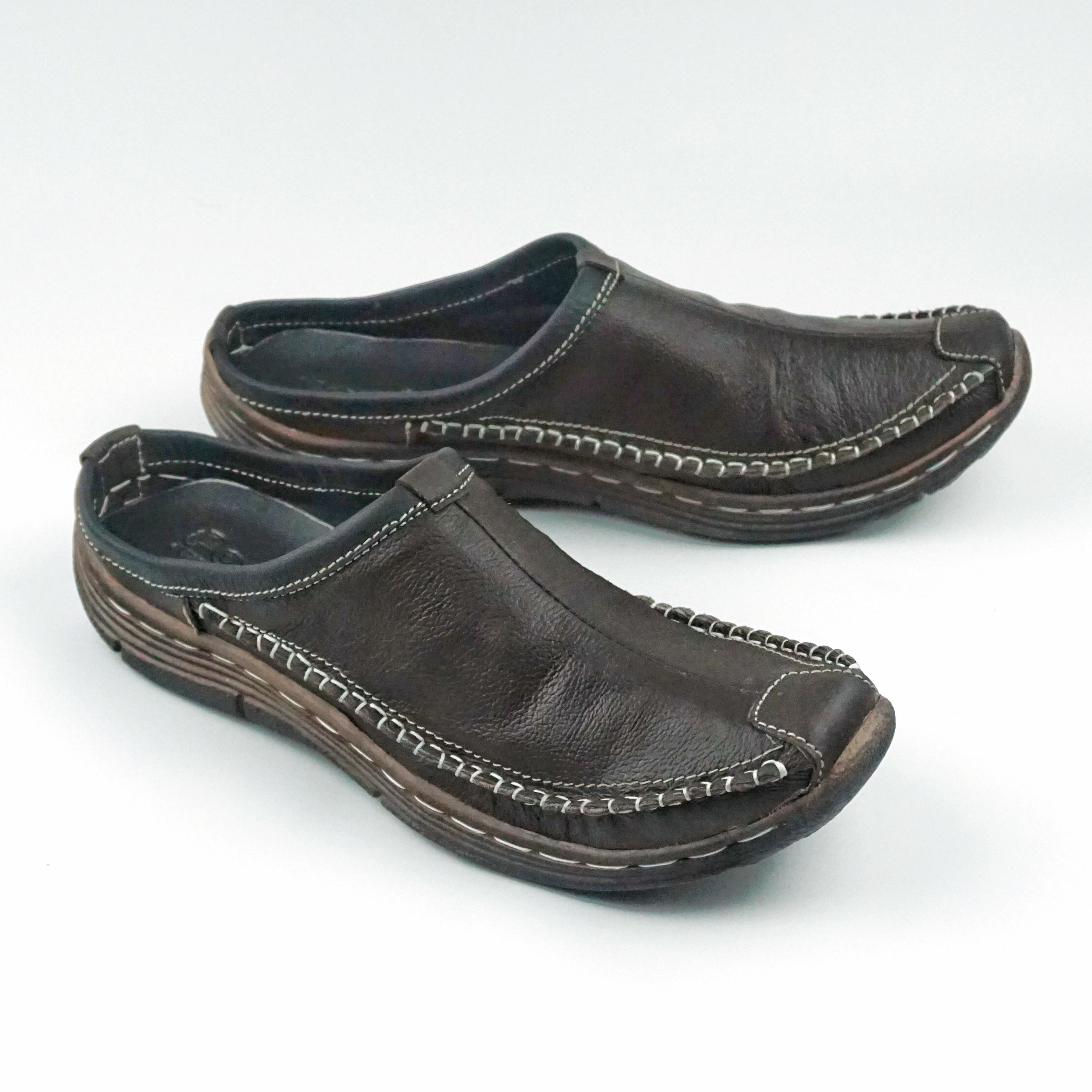 Sendal Sepatu Pria Model Bustong Original Fordza BS01 Sandal Sepatu Kulit  Asli 681f41bf2b