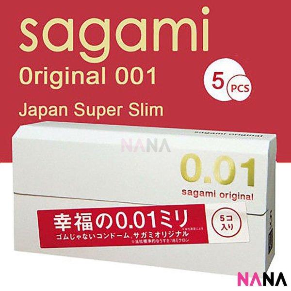Buy Sagami Original 0.01 Ultra Thin Condom 5pcs Singapore