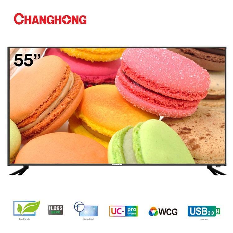 LED 55E6000HF CHANGHONG LED TV 55 INCH ANALOG GARANSI RESMI 3 TAHUN
