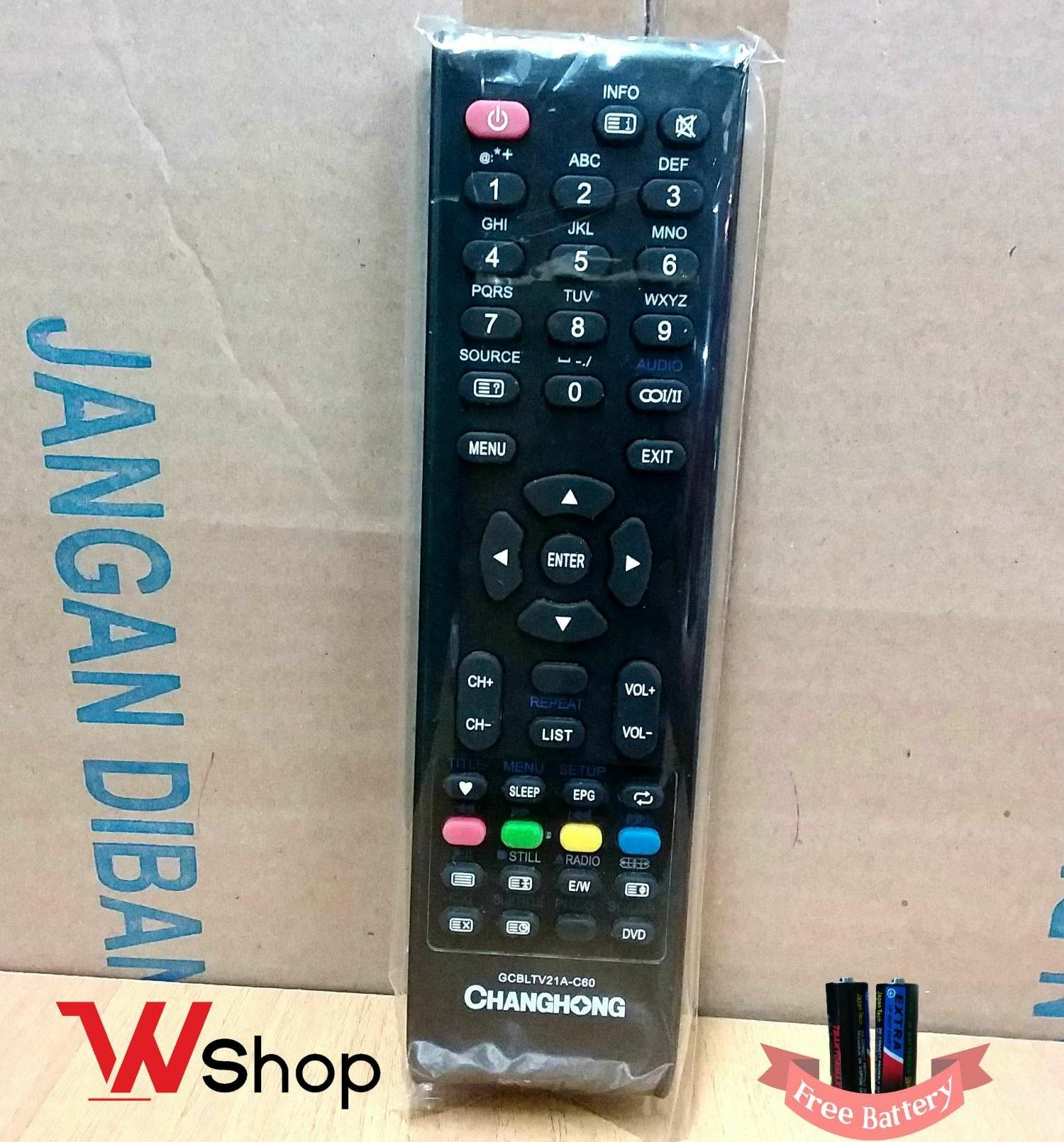 REMOTE/REMOT TV LCD LED CHANGHONG ORIGINAL