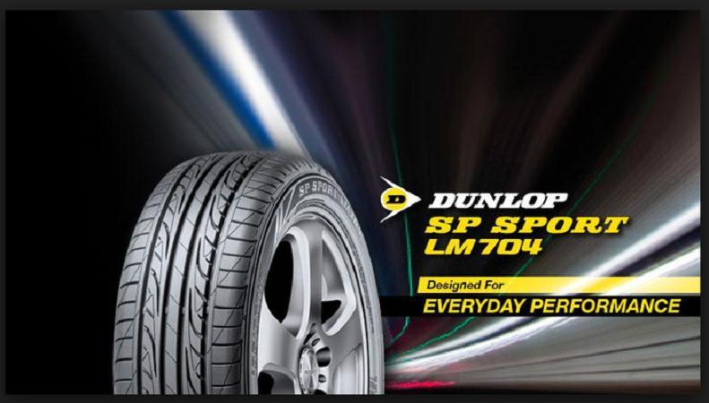 Ban Mobil Dunlop 195/55 R16 LM704 Dunlop