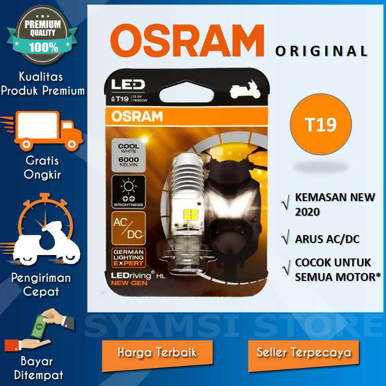 Lampu LED Motor HONDA Beat Street 2017 OSRAM T19