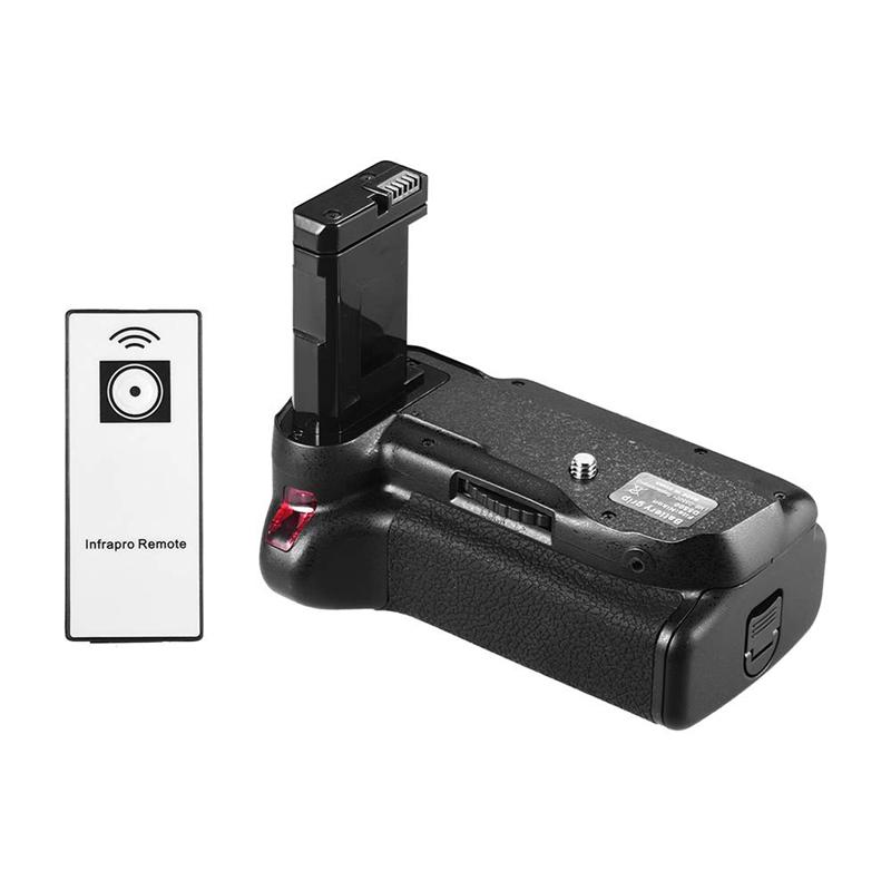 Vertical Battery Grip Holder for Nikon D5500 D5600 Dslr Camera En-El 14 Battery Powered with Ir Remote Control