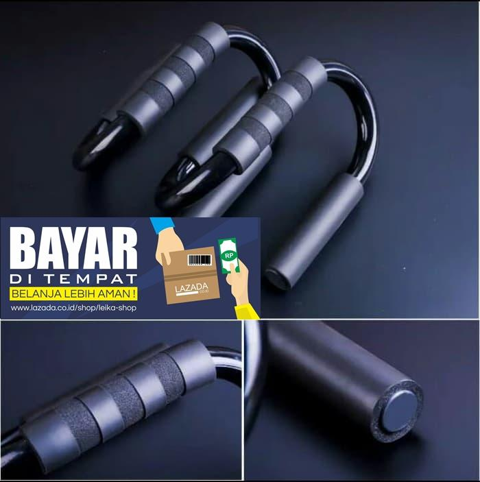 Alat Bantu Push Up - Handle Push Up Bar Model S Perfect, Push Up Bars