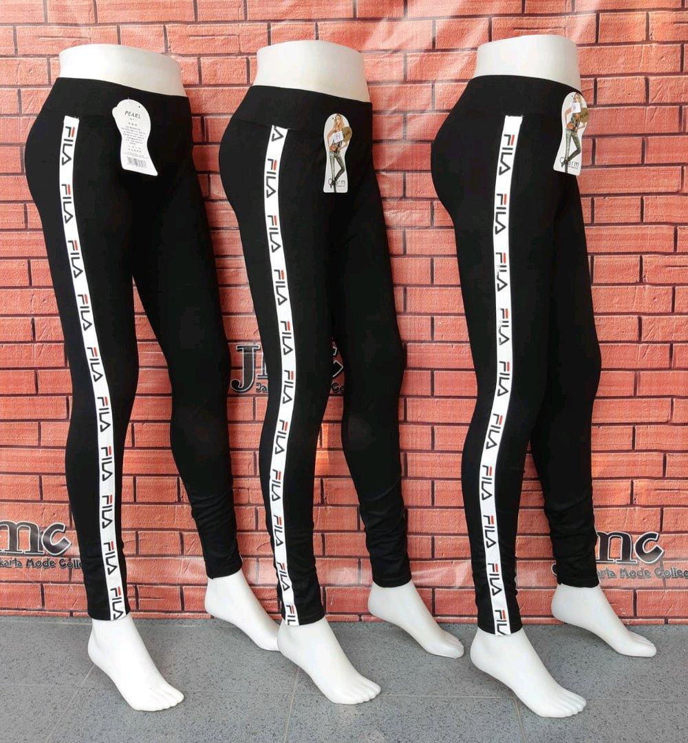 Celana Leging Scuba List Fla Membeli Jualan Online Celana Legging Dengan Harga Murah Lazada Indonesia