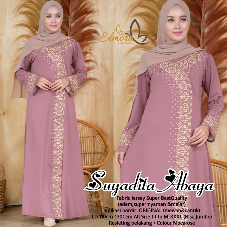 Sayadita Abaya Jersey Super HQ Baju muslim syari terbaru 11 toko baju  muslim di solomodel long dress untuk orang gemuk model kebaya dress