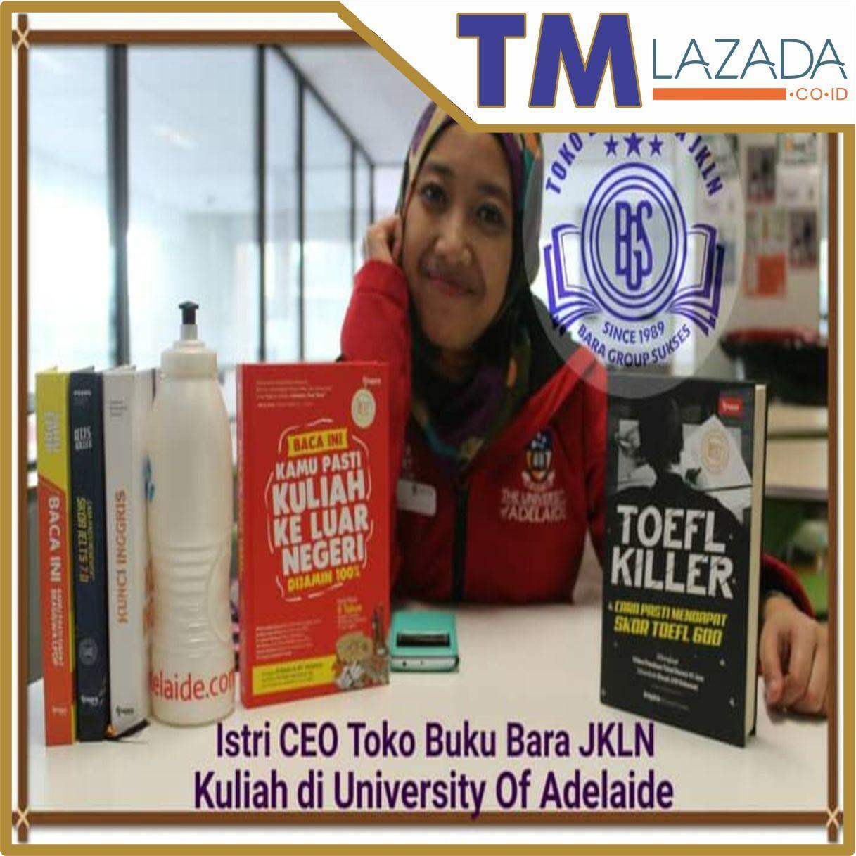 TOEFL KILLER [Rahasia Pencetak Skor TOEFL Tinggi] Terlaris di Lazada