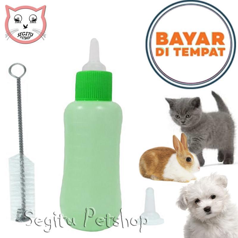 Dot Botol Susu Anak Kucing Kecil Anjing Kelinci Hewan Botol + Sikat + Refil By Segitu Petshop.