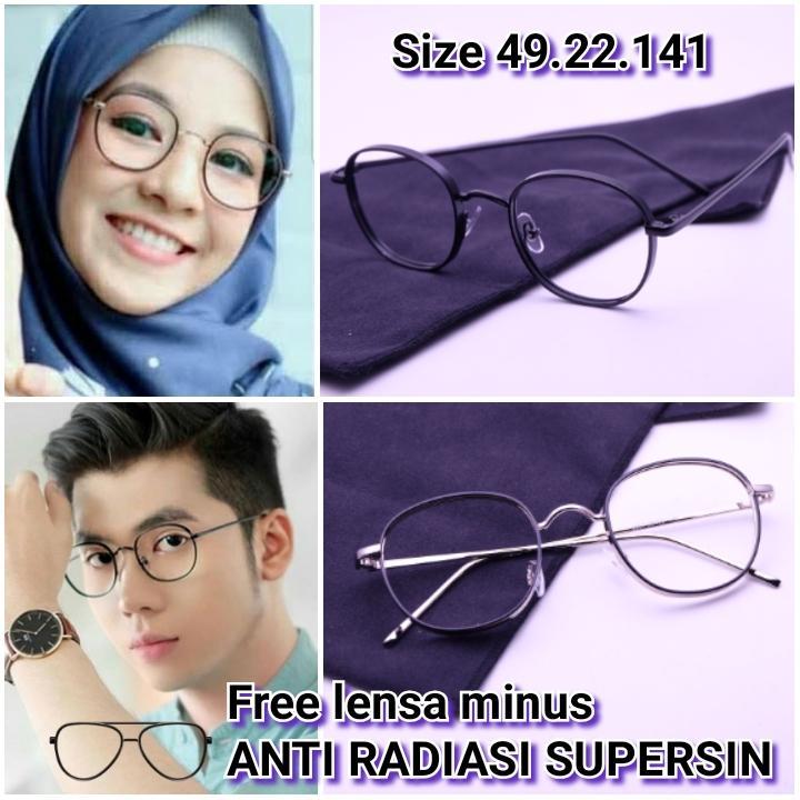 Frame Kacamata minus Paulin GM Kacamata baca kacamata bulat kacamata minus    plus  cylinder kacamata d21c4b6197
