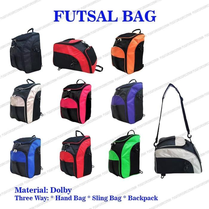 Futsal Bag Organizer (fbo) Tas Olahraga 3 In 1 (ransel, Selempang, Jinjing) - Pusat Grosir Eceran By Pusatgrosireceran.
