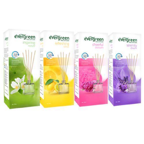 Pengharum Ruangan Evergreen Reed Diffuser Set Varian Cheerful Blossom 30 ml