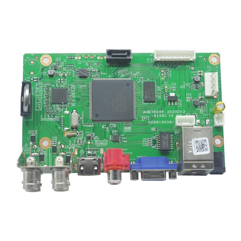 Giá 4 CH Hybrid DVR Board 5MP-N H.265 NVR DVR Security CCTV Video Recorder 4 Channel Board