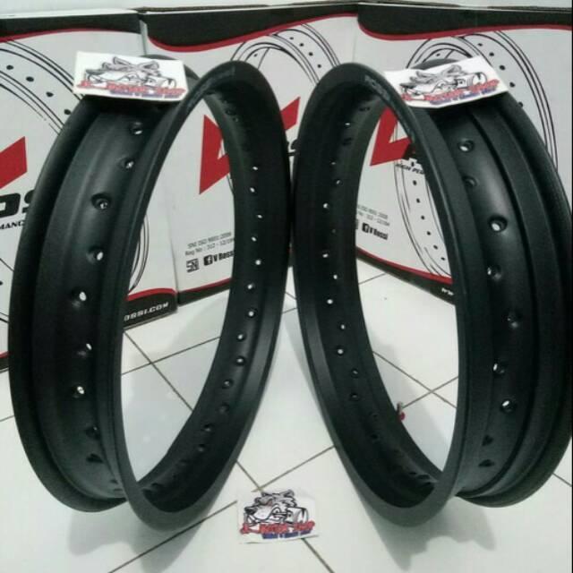 Promo Velg tapak lebar ukuran 215x250 ring 17 merk Rossi